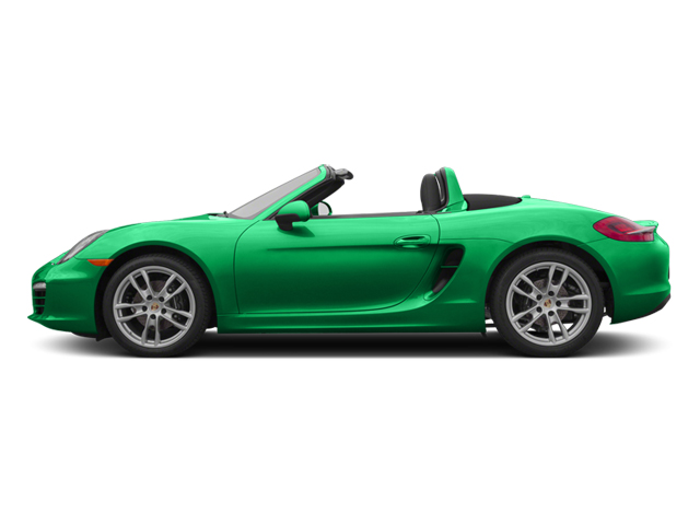Emerald Green Metallic 2013 Porsche Boxster Pictures Boxster Roadster 2D photos side view