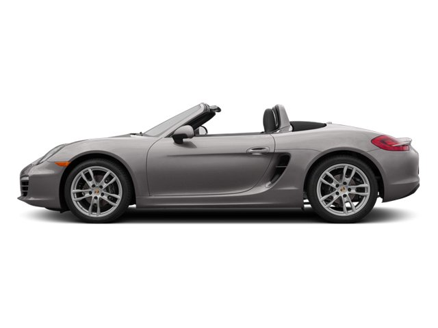 Agate Grey Metallic 2013 Porsche Boxster Pictures Boxster Roadster 2D photos side view