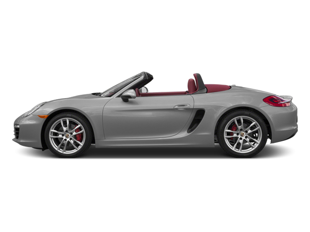 Platinum Silver Metallic 2013 Porsche Boxster Pictures Boxster Roadster 2D S photos side view