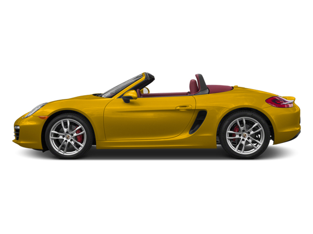 Racing Yellow 2013 Porsche Boxster Pictures Boxster Roadster 2D S photos side view