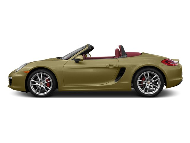 Lime Gold Metallic 2013 Porsche Boxster Pictures Boxster Roadster 2D S photos side view