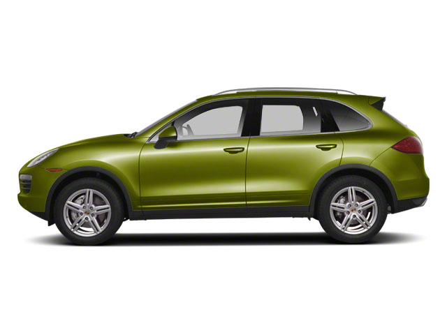 Peridot Metallic 2013 Porsche Cayenne Pictures Cayenne Utility 4D S AWD (V8) photos side view
