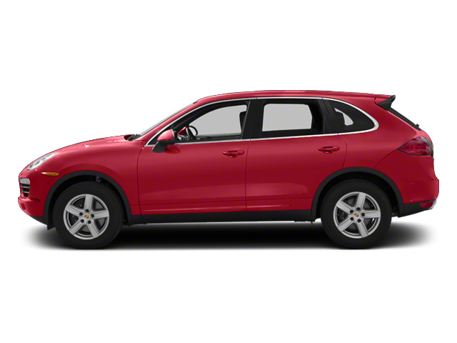 Carmine Red 2013 Porsche Cayenne Pictures Cayenne Utility 4D Diesel AWD (V6) photos side view