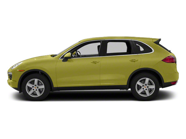 Peridot Metallic 2013 Porsche Cayenne Pictures Cayenne Utility 4D Diesel AWD (V6) photos side view