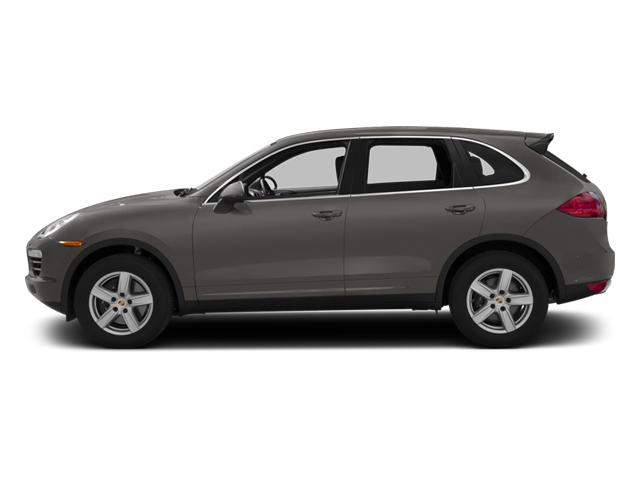 Meteor Grey Metallic 2013 Porsche Cayenne Pictures Cayenne Utility 4D Diesel AWD (V6) photos side view