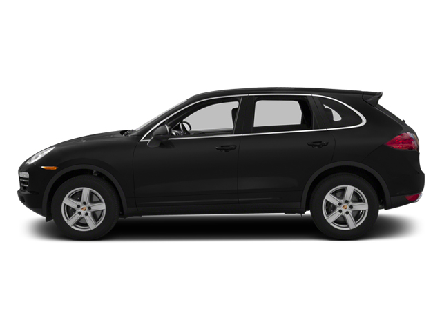 Black 2013 Porsche Cayenne Pictures Cayenne Utility 4D Diesel AWD (V6) photos side view