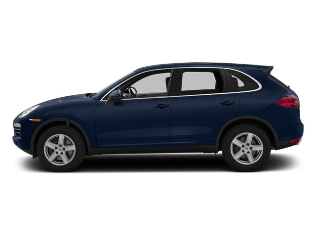 Dark Blue Metallic 2013 Porsche Cayenne Pictures Cayenne Utility 4D Diesel AWD (V6) photos side view