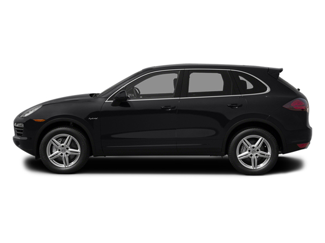 Black 2013 Porsche Cayenne Pictures Cayenne Utility 4D S Hybrid AWD (V6) photos side view