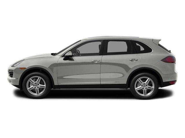Classic Silver Metallic 2013 Porsche Cayenne Pictures Cayenne Utility 4D S Hybrid AWD (V6) photos side view