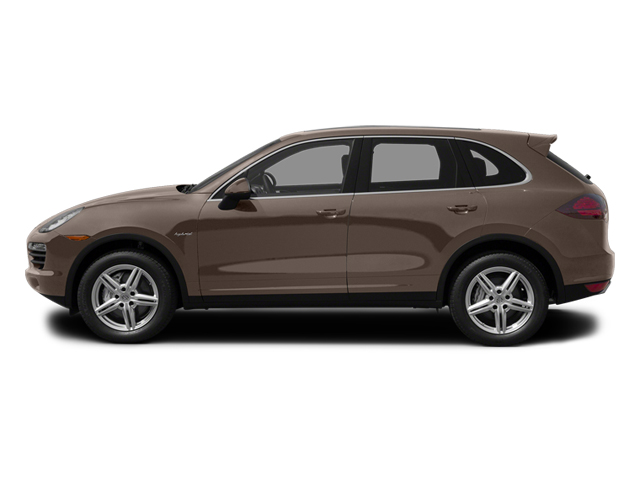 Umber Metallic 2013 Porsche Cayenne Pictures Cayenne Utility 4D S Hybrid AWD (V6) photos side view