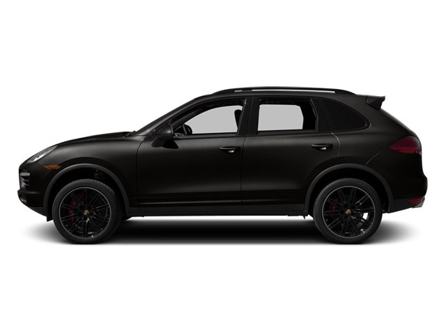 Jet Black Metallic 2013 Porsche Cayenne Pictures Cayenne Utility 4D Turbo AWD (V8) photos side view