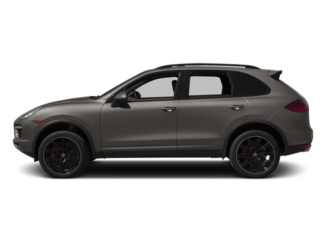 Meteor Grey Metallic 2013 Porsche Cayenne Pictures Cayenne Utility 4D Turbo AWD (V8) photos side view