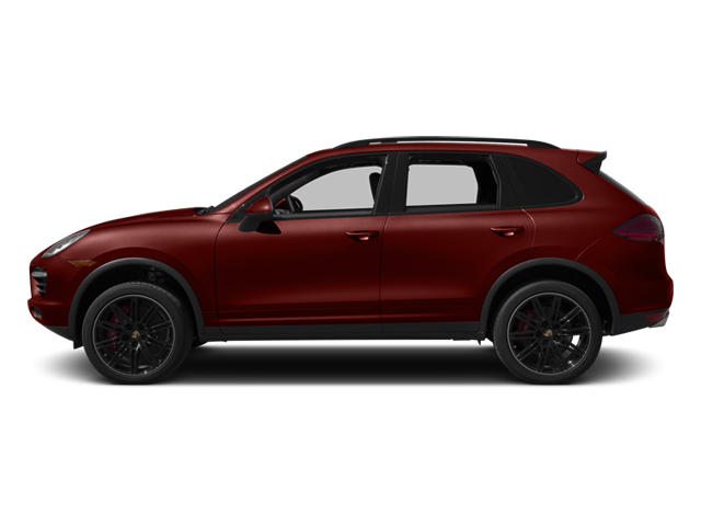 Auburn Metallic 2013 Porsche Cayenne Pictures Cayenne Utility 4D Turbo AWD (V8) photos side view