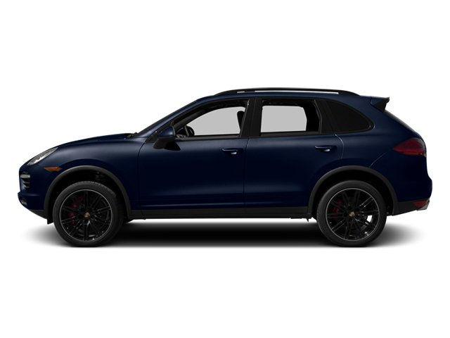 Dark Blue Metallic 2013 Porsche Cayenne Pictures Cayenne Utility 4D Turbo AWD (V8) photos side view