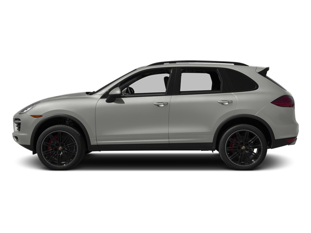 Classic Silver Metallic 2013 Porsche Cayenne Pictures Cayenne Utility 4D Turbo AWD (V8) photos side view