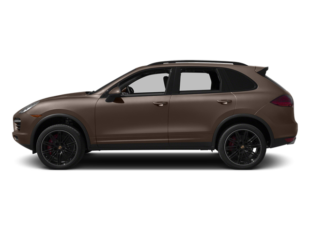 Umber Metallic 2013 Porsche Cayenne Pictures Cayenne Utility 4D Turbo AWD (V8) photos side view