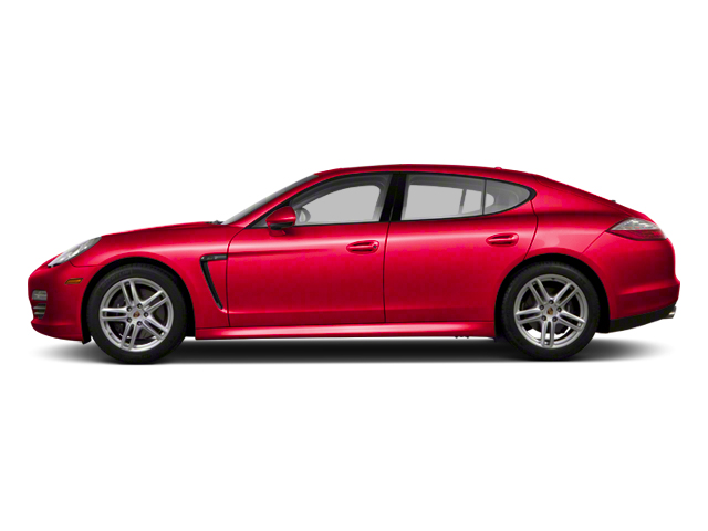 Carmine Red Metallic 2013 Porsche Panamera Pictures Panamera Hatchback 4D 4 AWD photos side view