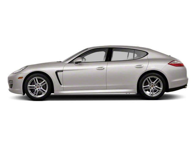 Platinum Silver Metallic 2013 Porsche Panamera Pictures Panamera Hatchback 4D Turbo AWD photos side view