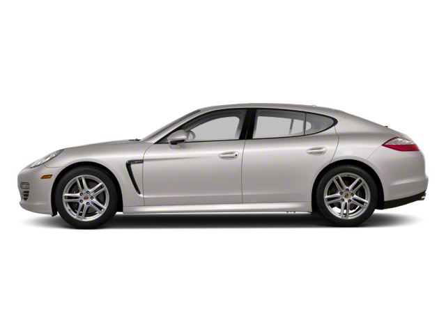 Platinum Silver Metallic 2013 Porsche Panamera Pictures Panamera Hatchback 4D 4 AWD photos side view