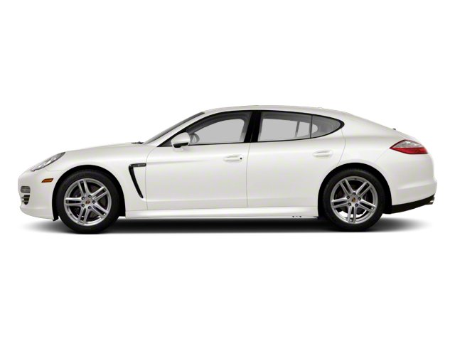 Carrara White 2013 Porsche Panamera Pictures Panamera Hatchback 4D 4 AWD photos side view