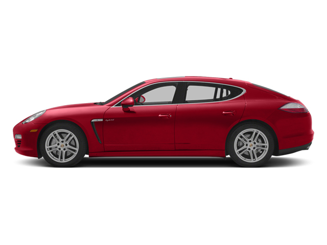 Ruby Red Metallic 2013 Porsche Panamera Pictures Panamera Hatchback 4D S Hybrid photos side view