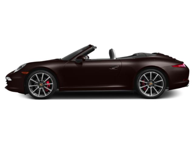 Mahogany Metallic 2013 Porsche 911 Pictures 911 Cabriolet 2D 4 AWD H6 photos side view