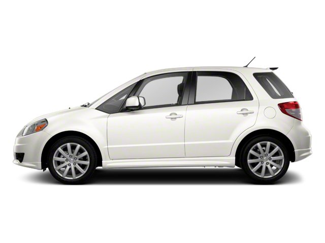 Pearl White 2013 Suzuki SX4 Pictures SX4 Hatchback 5D I4 photos side view