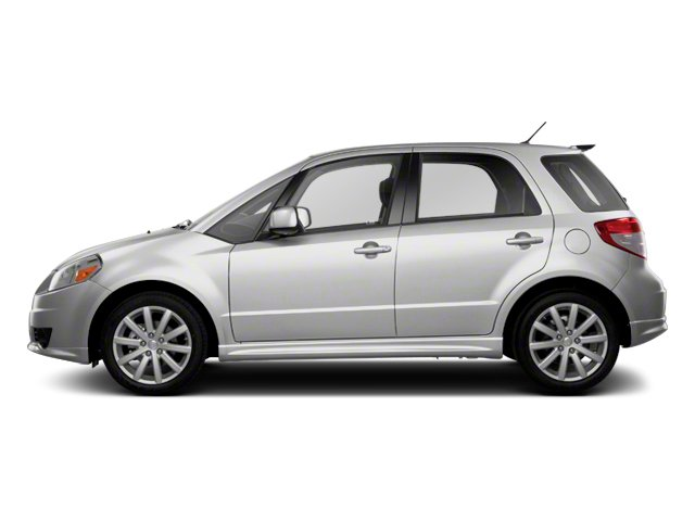 Metallic Star Silver 2013 Suzuki SX4 Pictures SX4 Hatchback 5D I4 photos side view