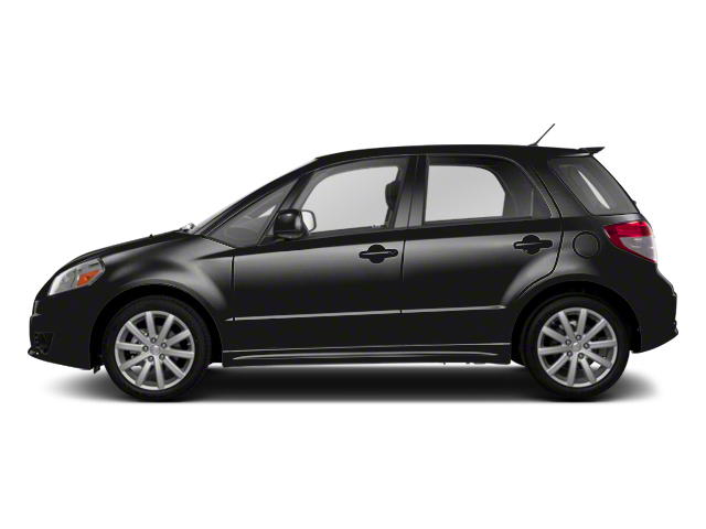 Super Black Metallic 2013 Suzuki SX4 Pictures SX4 Hatchback 5D I4 photos side view