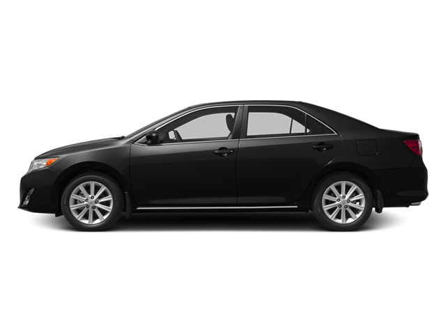 Attitude Black Metallic 2013 Toyota Camry Pictures Camry Sedan 4D XLE V6 photos side view