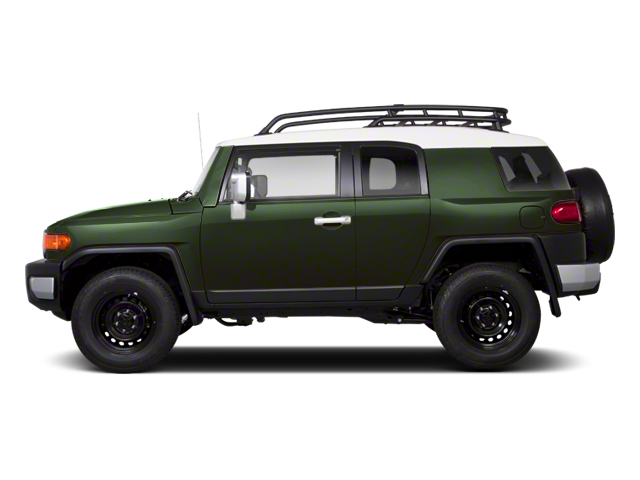 Army Green 2013 Toyota FJ Cruiser Pictures FJ Cruiser Utility 4D 2WD V6 photos side view