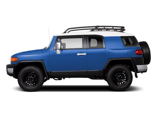 Cavalry Blue 2013 Toyota FJ Cruiser Pictures FJ Cruiser Utility 4D 2WD V6 photos side view