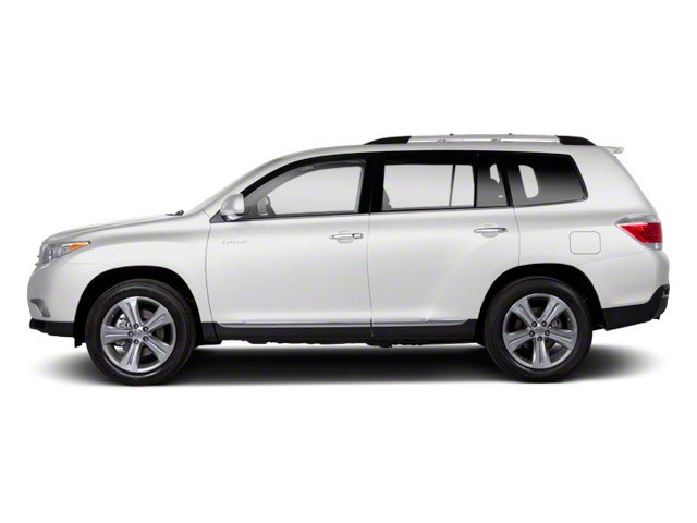 Blizzard Pearl 2013 Toyota Highlander Pictures Highlander Utility 4D 2WD I4 photos side view