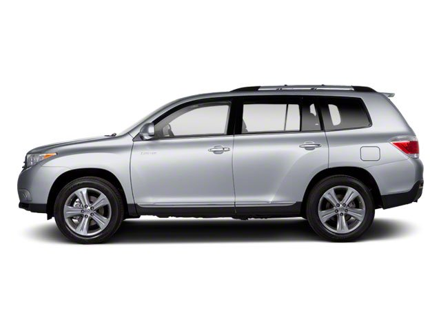Classic Silver Metallic 2013 Toyota Highlander Pictures Highlander Utility 4D 2WD I4 photos side view