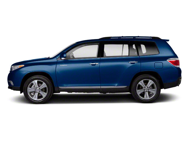 Nautical Blue Metallic 2013 Toyota Highlander Pictures Highlander Utility 4D 2WD I4 photos side view