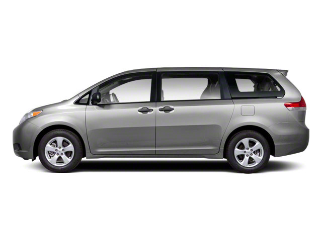 Silver Sky Metallic 2013 Toyota Sienna Pictures Sienna Wagon 5D LE AWD V6 photos side view