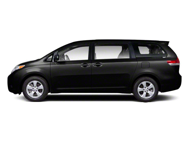 Black 2013 Toyota Sienna Pictures Sienna Wagon 5D LE AWD V6 photos side view