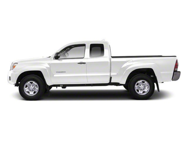 Super White 2013 Toyota Tacoma Pictures Tacoma Base Access Cab 4WD V6 photos side view