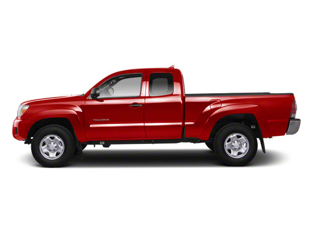 Barcelona Red Metallic 2013 Toyota Tacoma Pictures Tacoma Base Access Cab 4WD V6 photos side view