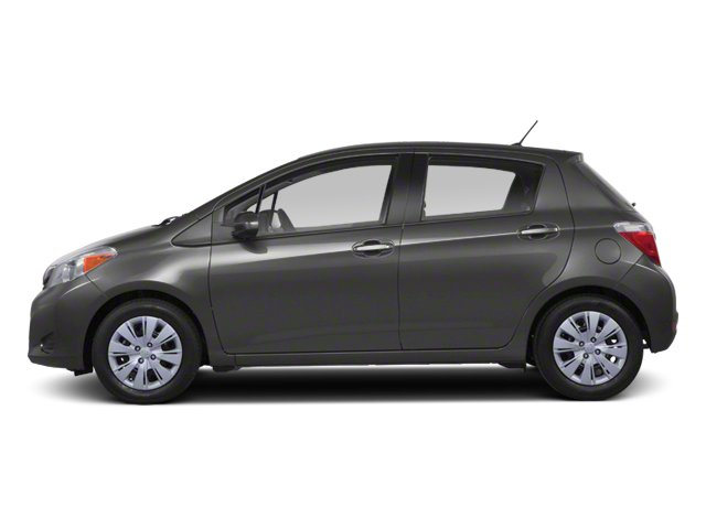 Magnetic Gray Metallic 2013 Toyota Yaris Pictures Yaris Hatchback 5D LE I4 photos side view