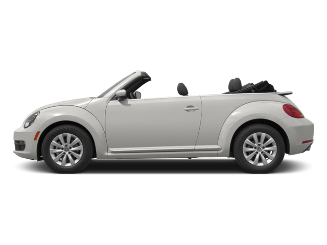 Candy White 2013 Volkswagen Beetle Convertible Pictures Beetle Convertible Convertible 2D 2.5 photos side view