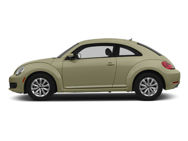 Moonrock Silver Metallic 2013 Volkswagen Beetle Coupe Pictures Beetle Coupe 2D 2.5 I5 photos side view