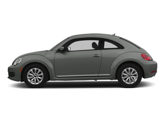 Platinum Gray Metallic 2013 Volkswagen Beetle Coupe Pictures Beetle Coupe 2D 2.5 I5 photos side view