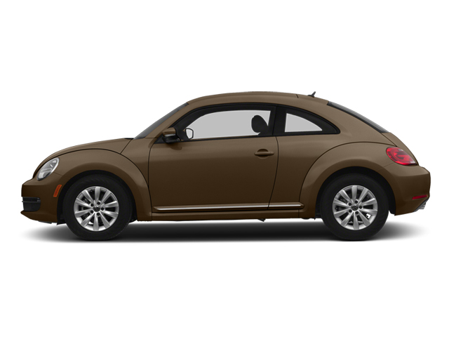 Toffee Brown Metallic 2013 Volkswagen Beetle Coupe Pictures Beetle Coupe 2D 2.5 I5 photos side view