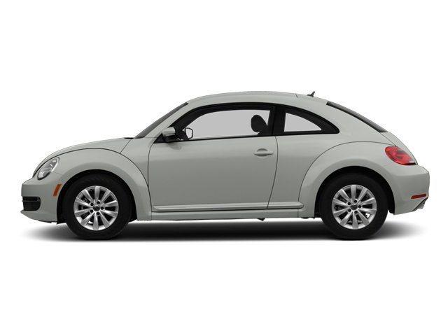 Reflex Silver Metallic 2013 Volkswagen Beetle Coupe Pictures Beetle Coupe 2D 2.5 I5 photos side view