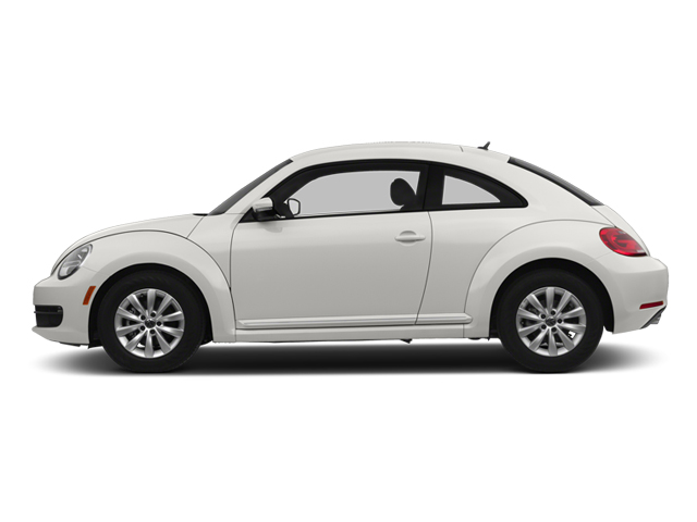Candy White 2013 Volkswagen Beetle Coupe Pictures Beetle Coupe 2D 2.5 I5 photos side view