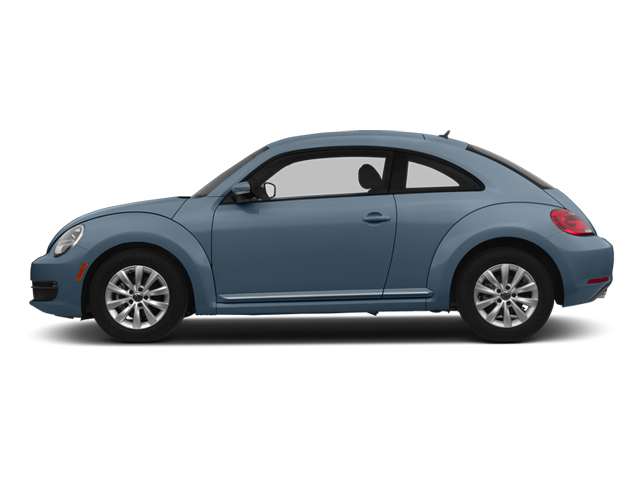 Denim Blue 2013 Volkswagen Beetle Coupe Pictures Beetle Coupe 2D 2.5 I5 photos side view