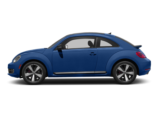 Reef Blue Metallic 2013 Volkswagen Beetle Coupe Pictures Beetle Coupe 2D 2.0T R-Line I4 Turbo photos side view