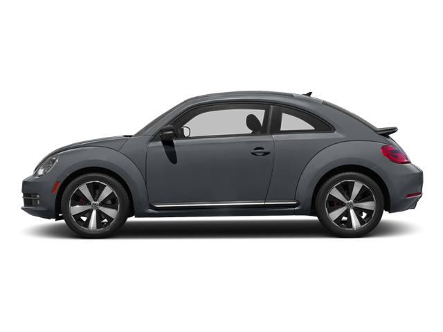 Platinum Gray Metallic 2013 Volkswagen Beetle Coupe Pictures Beetle Coupe 2D 2.0T R-Line I4 Turbo photos side view