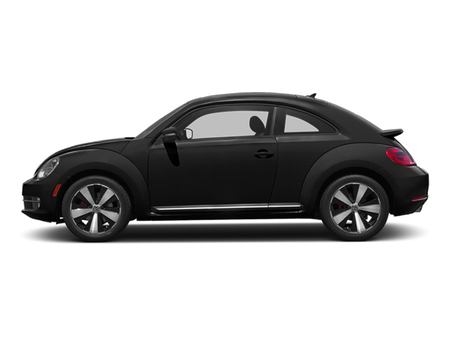 Deep Black Pearl Metallic 2013 Volkswagen Beetle Coupe Pictures Beetle Coupe 2D 2.0T R-Line I4 Turbo photos side view